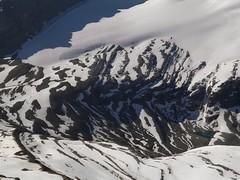 small tarn (*Andrea B) Tags: summer snow canada ice pond day july glacier mount gordon banff canadaday banffnationalpark icefield canadianrockies wapta waptaicefield mountgordon july2013 summer2013