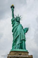 Statue of Liberty (Camilla Yang) Tags: new york usa nova landscape photography nikon paisagem eua estados unidos iorque d7000