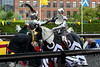 Jousting (jamesdonkin) Tags: horse public animal costume leeds medieval tournament knight armour jousting royalarmouries platemail stacyevans historicalgarb seángeorge fullplatearmour