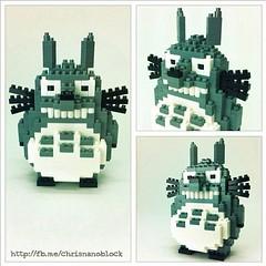 nanoblock Totoro (inanoblock) Tags: toy lego bricks totoro blocks build myneighbourtotoro nanoblock  nanoblocks
