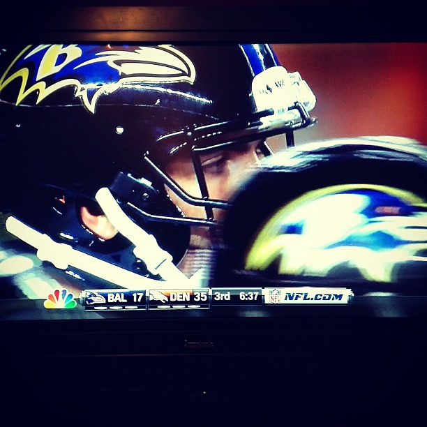 First night of football season and its disappointing #ravens #broncos #nfl