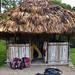 La notte ho trovato una capanna libera e l'ho usata come alloggio