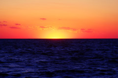 Goodbye, Summer 2013 (ohgoodgracious) Tags: ocean sunset summer beach nature sunshine outside outdoors newjersey waves nj sunsetbeach capemay summertime jerseyshore summernights settingsun capemaynj