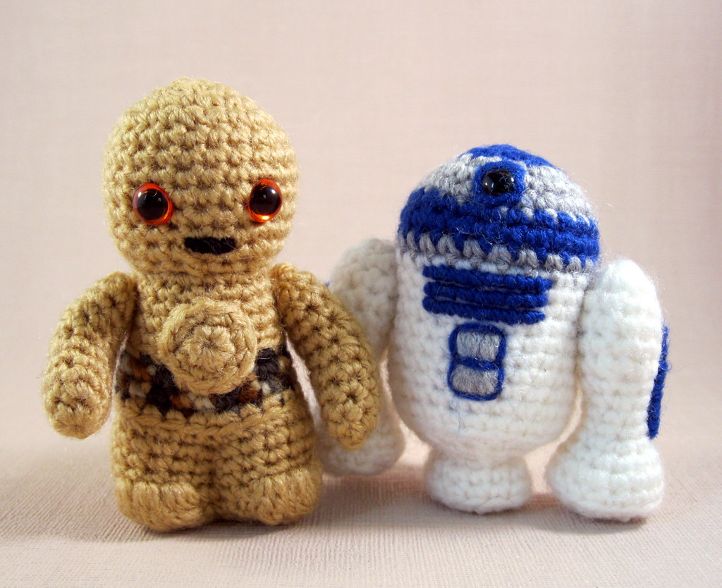 Amigurumi Star Wars Patterns Free : Amigurumi geek geek crochet amigurumi r d