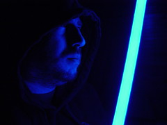 Happy Star Wars Day! (James_Seattle) Tags: me james starwars sony may cybershot digitalcamera year2 lightsaber sonycybershot 2012 366 maythe4thbewithyou jamesseattle