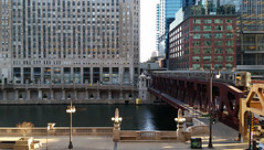My New View (michael.veltman) Tags: from chicago train river drive desk tracks l merchandise elevated wacker mart my