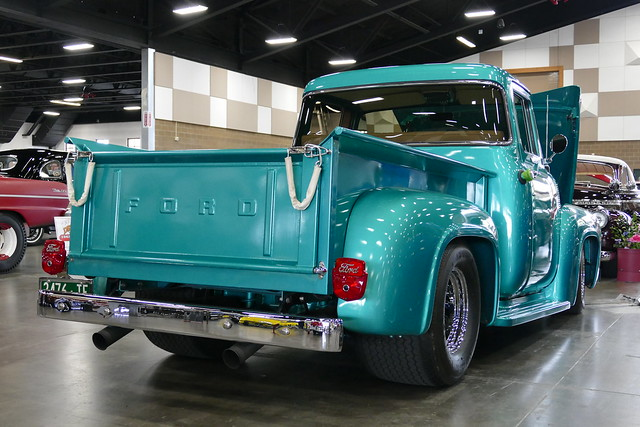 ford f100 pickuptruck 1956 colleenjohnson chuckjohnson
