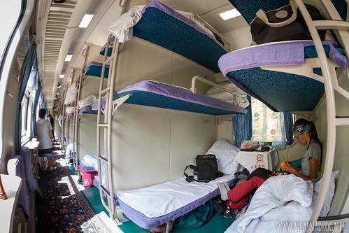W chińskim pociągu