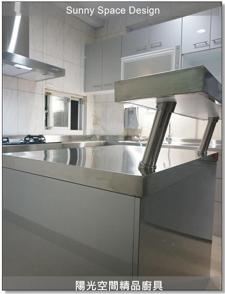 廚具│廚具大王│陽光廚具-作品250-ㄇ字型廚具-陽光空間精品廚具