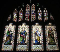 Coventry - Holy Trinity Church (pefkosmad) Tags: uk england church window interior stainedglass coventry anglican warwickshire holytrinitychurch vitraux churchofengland