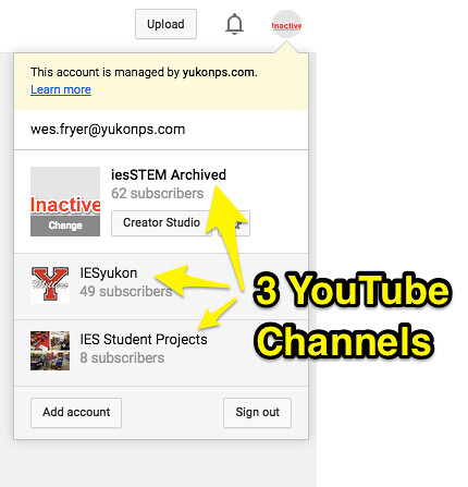 3 YouTube Channels by Wesley Fryer, on Flickr