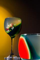 Gelatina 3D (@layane_nara) Tags: cup glass jelly gelatin gelatina gélatine