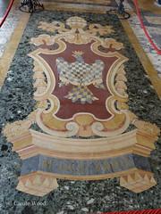 Castel Sant'Angelo (Fontaines de Rome) Tags: roma castel sala paolina stemma blason papa pape innocentius xiii conti innocent sant angelo
