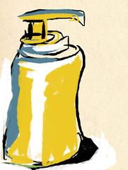 2015.04.20 Hand Cream Dispenser (2) (Julia L. Kay) Tags: sanfrancisco woman art mobile female digital sketch san francisco artist arte julia kunst touch kay daily dessin peinture 365 everyday tablet dibujo touchscreen artista mda fingerpaint artiste iphone knstler iart ipad isketch mobileart idraw ithing fingerpainter idevice juliakay julialkay iamda mobiledigitalart