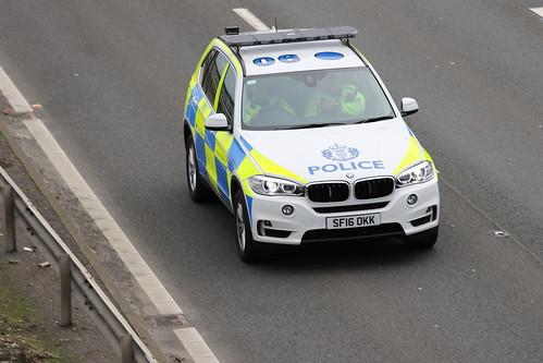 MOSS SF16 OKK BMW X5 POLICE SCOTLAND