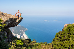 IMG_5079 (sergeysemendyaev) Tags: 2016 rio riodejaneiro brazil pedradagavea    hiking adventure best    travel nature   landscape scenery rock mountain    high forest  ocean   blue