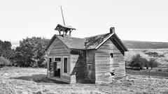 Lost Teachings (John Westrock) Tags: pomeroy washington blackandwhite lynnschool abandoned school rural pacificnorthwest canoneos5dmarkiii canonef2470mmf28lusm