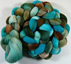 Tradewinds merino wool top (yarnwench) Tags: wooltop handdyedwool spinning felting yarnwench