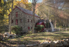 Historical New England (lisadonoghue(away)) Tags: mill fallcolor newengland gristmill