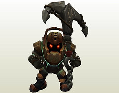 League of Legends - Nautilus the Titan of the Depths Free Papercraft Download (PapercraftSquare) Tags: leagueoflegends nautilus