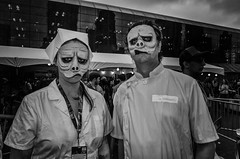 Comic Con 2016 (Roy Savoy) Tags: bw blackandwhite comiccon street city streetphotography roysavoy nyc newyorkcity newyork blacknwhite streets streettog streetogs ricoh gr2 candid flickr explore candids photography streetphotographer 28mm nycstreetphotography gothamist tog mono monochrome flickriver snap digital monochromatic blancoynegro