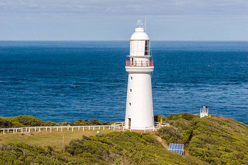 Lighthouse and beacon, Cape Otway Lightstation