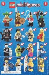 Collectible Minifigures Series 02 (AB Quest) Tags: lego collectible minifigures