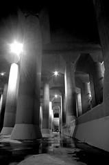 Underwater Tank (runslikethewind83) Tags: japan asia structure monochrome blackandwhite 2016 pentax pentaxkx saitama tokyo architecture 日本 アジア 埼玉 白黒