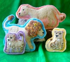 Handmade Wool Toys (BeneathTheRowanTree) Tags: handmade plush felted wool toys needlefelting