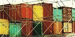 El puerto... (ojoadicto) Tags: colores contenedores puerto la boca buenosaires lineas formas airelibre