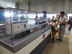 Haruka model (seikinsou) Tags: japan osaka autumn kix kansai airport haruka model jr railway train glass case