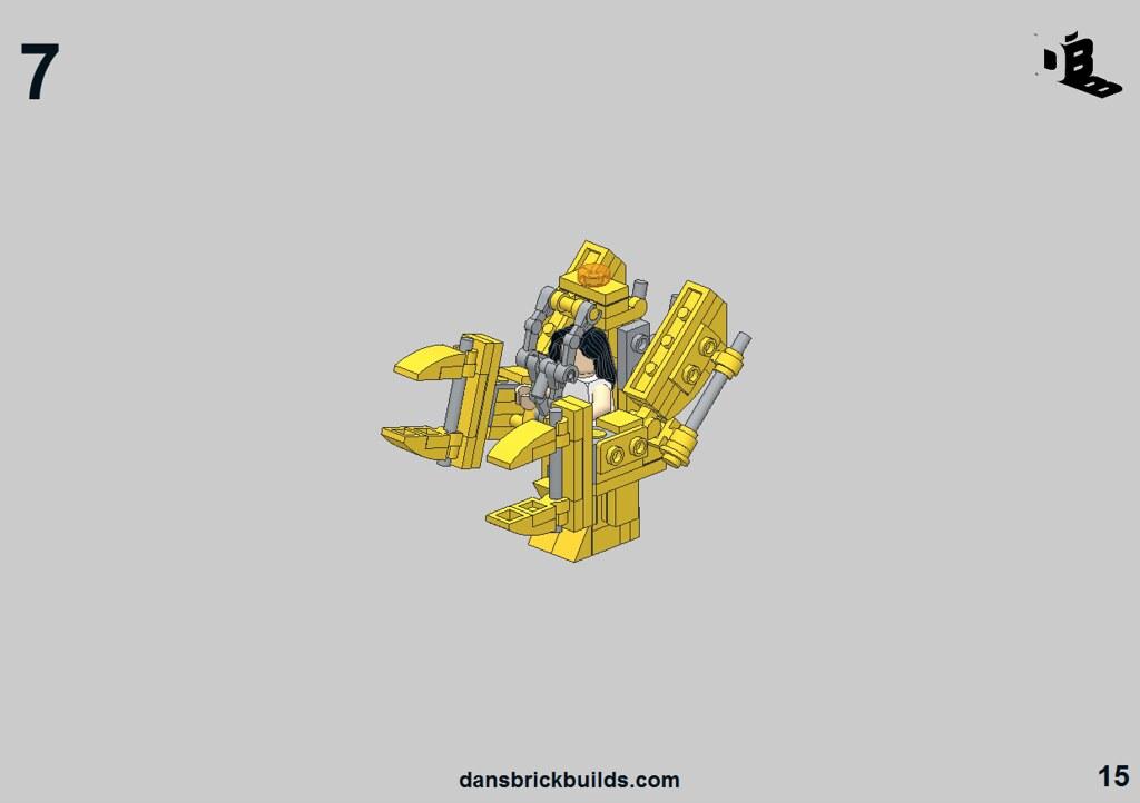 lego alien queen instructions