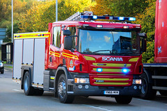 Humberside Fire And Rescue Brand New Scania P280 Driver Training Vehicle (Ben Greenwood 999) Tags: humberside fire and rescue brand new scania p280 driver training vehicle yn66mvk bluelight responding