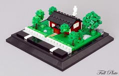 Quintessentially Swedish (5 of 5) (Emil Lid) Tags: lego moc micro micropolis cottage tree swebrick quintessentially swedish contest