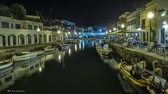 2238  Puerto de Ciutadella, Menorca (Ricard Gabarrs) Tags: mar agua water puerto nocturno marea ricardgabarrus barcos barcas velero lanchas ciutadella olympus ricgaba
