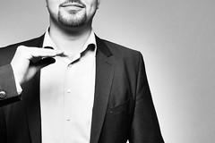 Suit Day (wildbam25) Tags: anzug suit black white blackandwhite bnw bw lumix anonym joe wild strel strellson