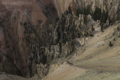 """Formations in the Grand Canyon of the Yellowstone • <a style=""""font-size:0.8em;"""" href=""""http://www.flickr.com/photos/63501323@N07/30519890680/"""" target=""""_blank"""">View on Flickr</a>"""