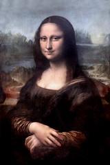 IMG_7913B Lonard de Vinci. 1452-1549. Florence, Milan. La Joconde. Portrait de Mona Lisa. The Mona Lisa. 1503-1506.  Louvre. (jean louis mazieres) Tags: peintres peintures painting muse museum museo lonarddevinci
