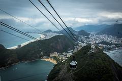 Rio de Janeiro - South America 2016 (Views through Petez Lenz) Tags: cablecar copacabana cityscape water christtheredeemer