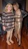 Gina & Kacey! (kaceycd) Tags: crossdress tg tgirl lycra spandex wetlook metallic gown longdress pantyhose stockings nylons rhtstockings fullyfashionedstockings garterbelt suspenderbelt pumps peeptoepumps opentoepumps highheels stilettopumps platformpumps stilettoheels sexypumps stilettos s