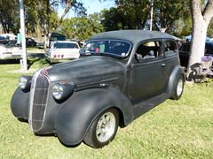 1937 Plymouth (bballchico) Tags: 1937 plymouth tudorsedan davidlawrence boulevardknights billetproof billetproofantioch carshow 1930s