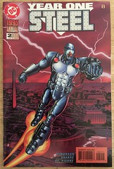 Steel #2 - 1995 Annual: Year One (sheriffdan10) Tags: steel annual dc dccomics comicbooks superhero superheroine cover covers magazine sciencefiction