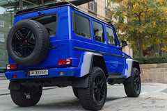 Tiny (Beyond Speed) Tags: mercedes g500 4x4 brabus supercars supercar automotive automobili nikon london blue v8 knightsbridge