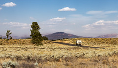 rv spirit (Christian Collins) Tags: rv vehicle road mountain distance canon t2i ef70200mm recreationalvehicle wyoming tetons teton national park sage hills windingroad