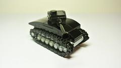 M4 Sherman (MOC) (hajdekr) Tags: tank american usa weapon military vehicle toy lego mini microscale small simple easy basic howto sherman m4 mediumtank buildingblocks ww2 worldwar second war army