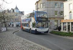 19002, Teignmouth, 25/11/16 (aecregent) Tags: teignmouth 251116 stagecoachsouthwest enviro400 19002 mx06xaa 2