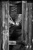Vecchio cantiere (038) (Pier Romano) Tags: cantiere navale vecchio dockyard cantierenavale pietra ligure pietraligure liguria italia italy nikon d5100 shipyard old edificio abbandonato abandonedplace abandonedbuilding abandoned building riviera bnw blackandwhite biancoenero