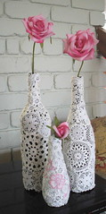 Will You Be My Valentine? Vases (irecyclart) Tags: bottle diy upcycled valentinesday