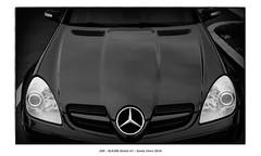 SLK280 Detail #1 (Godfrey DiGiorgi) Tags: colorskopar50mmf25 abstract automobile bw car detail shape slk280 stilllife santaclara california usa us
