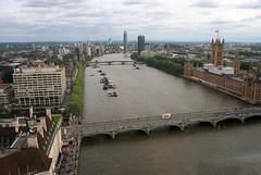 London 2016 (anorakin) Tags: london londoneye parliament westminster mi6 vauxhallbridge westminsterbridge thames riverthames lambethbridge